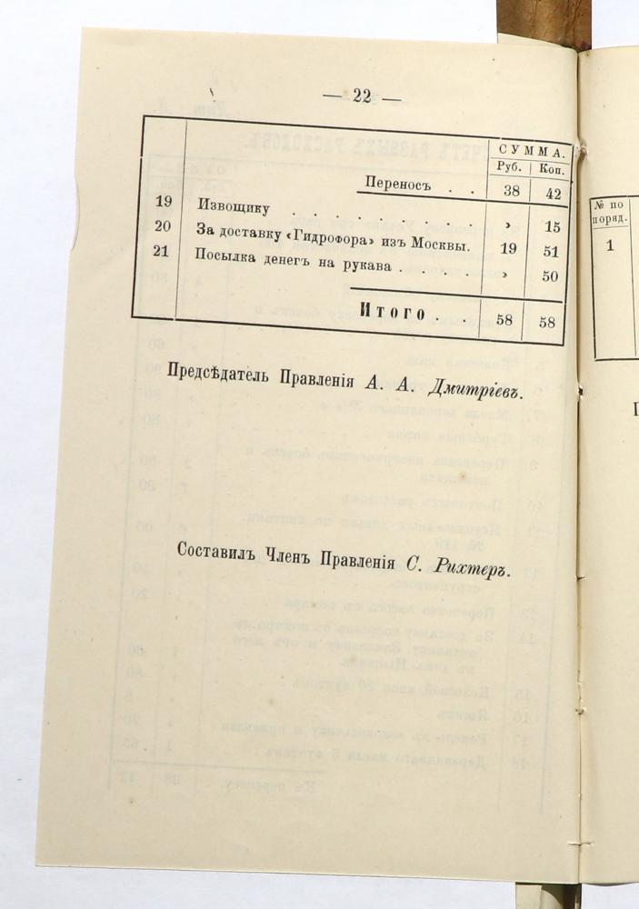 Отчеты правления Минского вольного пожарного общества за 1876—1877 годы