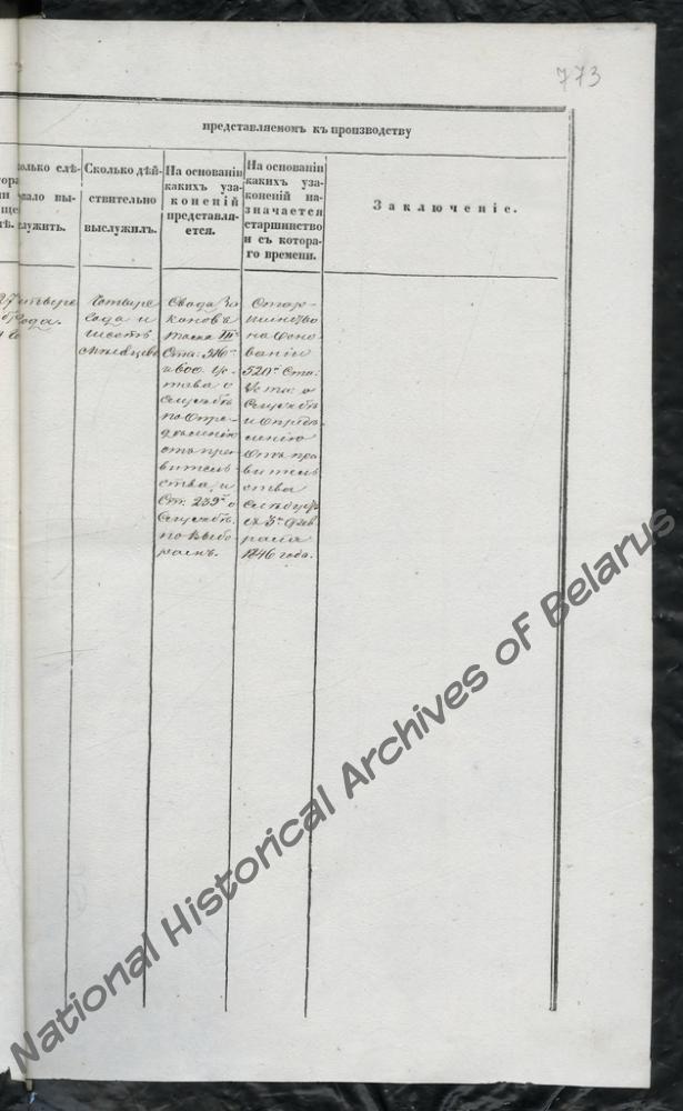 Формулярный список о службе и достоинстве Борисовского уездного предводителя дворянства Евстафия Тышкевича за 1846 г.