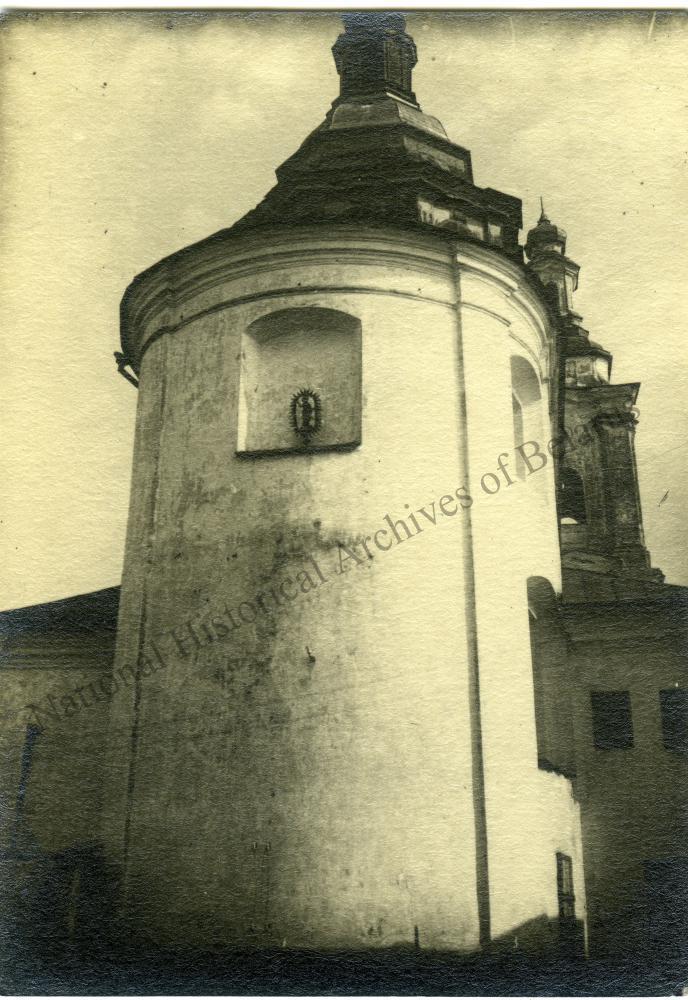 Магілёў, горад Магілёўскай губерні. Уваскрасенская царква. Усходні фасад.