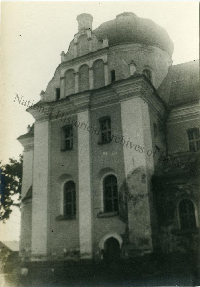Магілёў, горад Магілёўскай губерні. Мікалаеўская царква. Бакавы фасад.