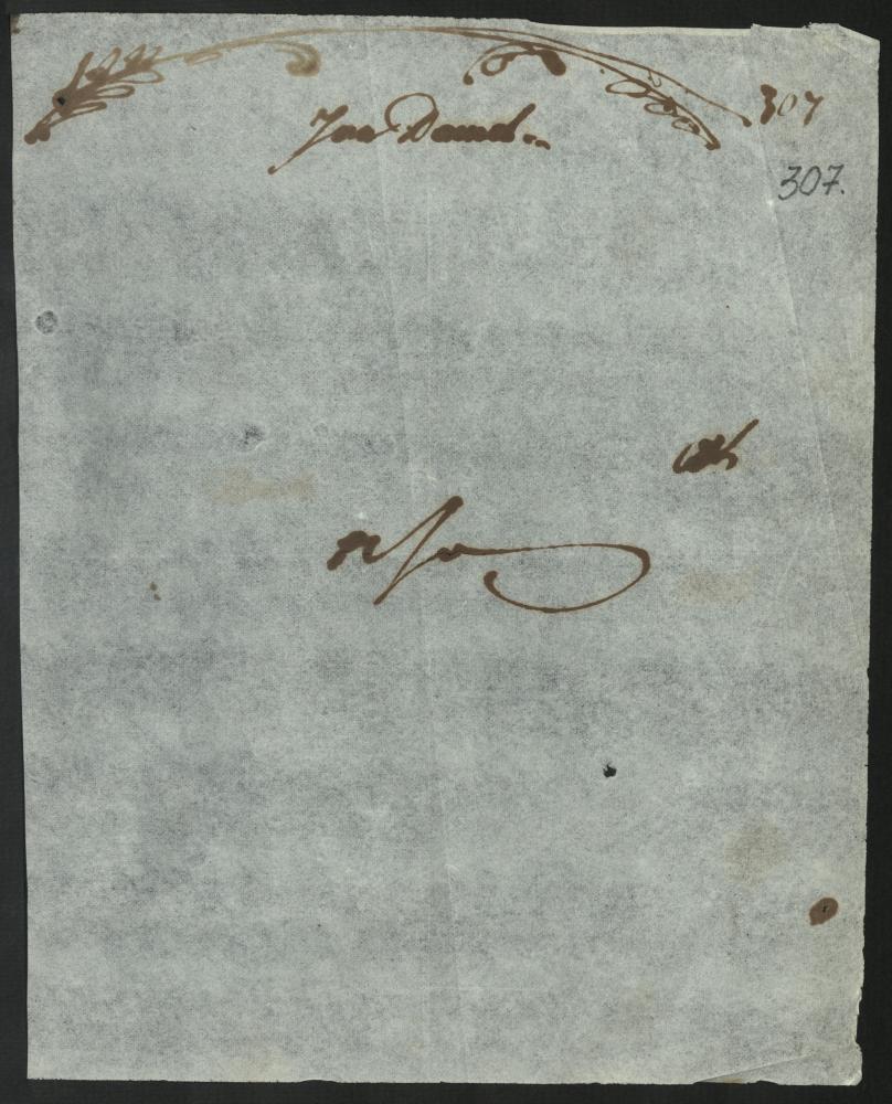 Аўтограф Яна Дамеля. Вільня. Б/д. [1813 год]